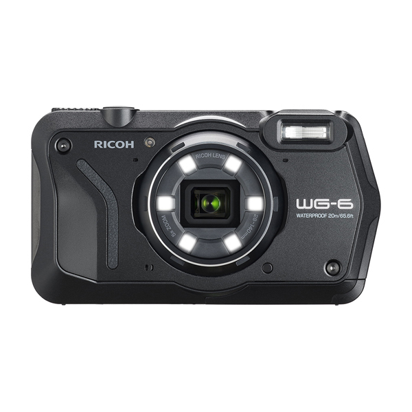 RICOH 防水 デジタルカメラ WG-6 ブラック