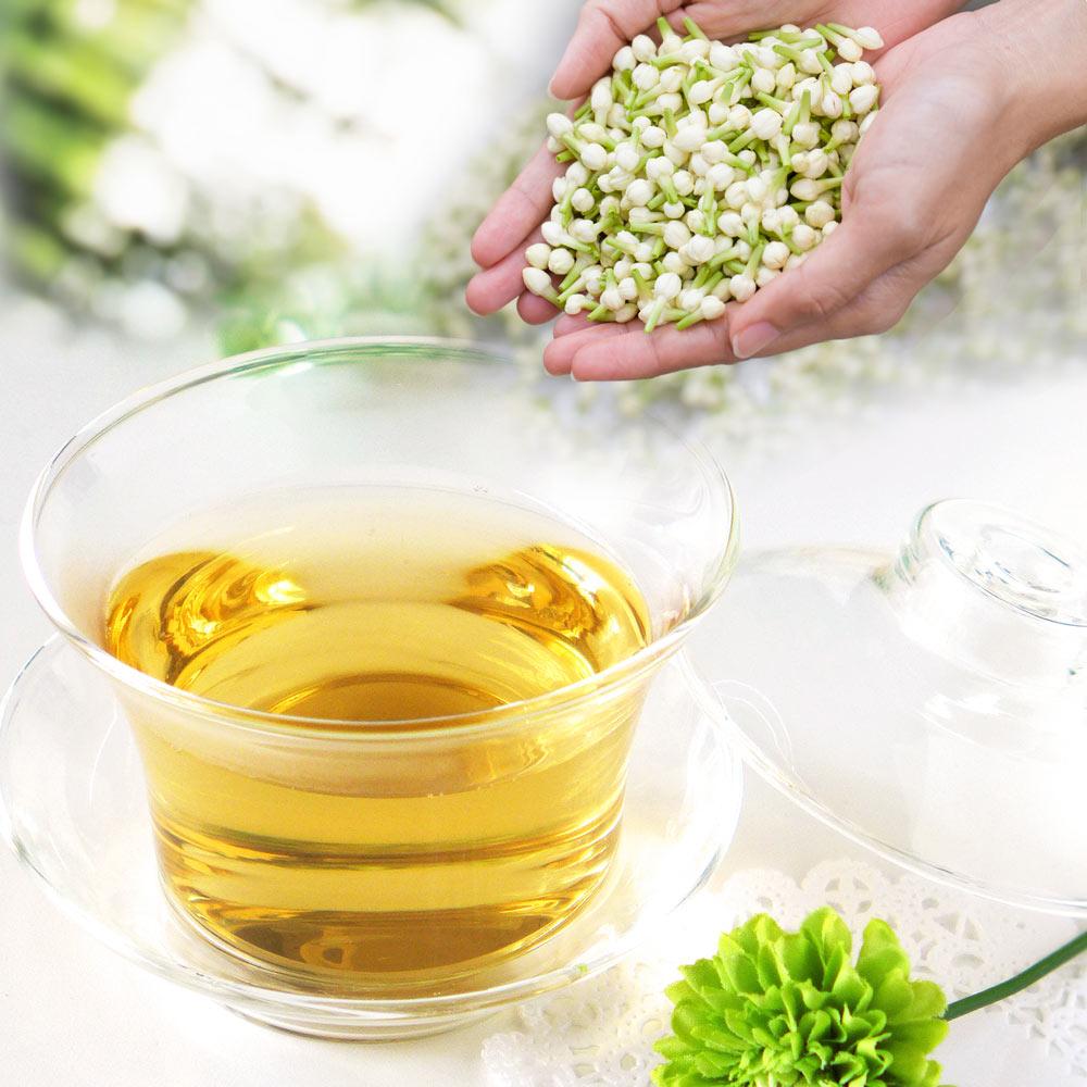 新作続 やわらかな香りのジャスミン龍珠 水出し冷茶もおすすめです ジャスミン茶 ジャスミン花香茶 送料無料 メール便 ランキングTOP5 60g
