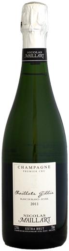 引出物 ニコラ マイヤール レ シャイヨ ジリ エキストラ 750ml ブラン ブリュット ド 開店祝い 1er 2011