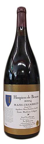【マグナム瓶】オスピス・ド・ボーヌ マジ・シャンベルタン・キュヴェ・マドレーヌ・コリニョン [2004]1500ml