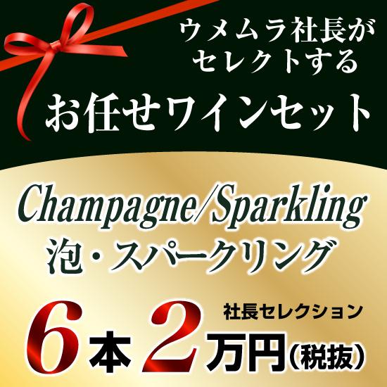 社長セレクション 泡 6本セット (2万円)