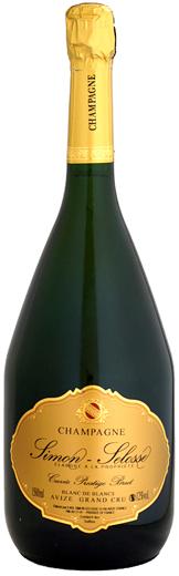 マグナム瓶シモン・セロス ブラン・ド・ブラン ブリュット グラン・クリュ キュヴェ・プレスティージュ 1500ml