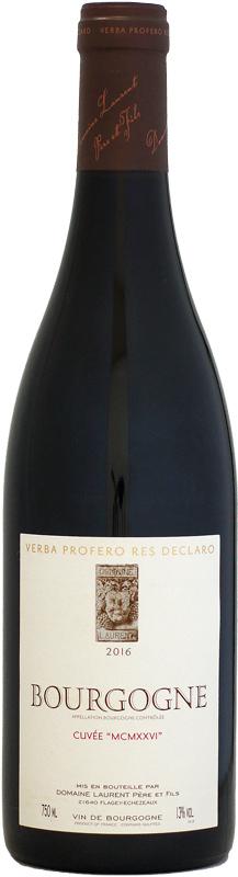 ドメーヌ ローランを象徴するワイン ローラン ブルゴーニュ ルージュ MCMXXVI オンラインショッピング 1926 750ml キュヴェ サービス 2016