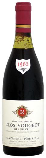 ルモワスネ クロ・ヴージョ [1985]750ml