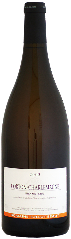 マグナム瓶 トロ・ボー コルトン・シャルルマーニュ [2003]1500ml