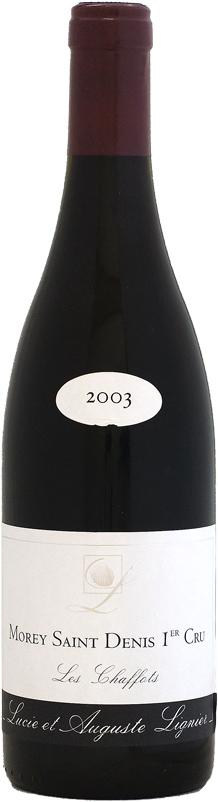リュシー・エ・オーギュスト・リニエ モレ・サン・ドニ 1er シャフォ [2003]750ml