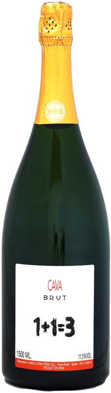 メーカー公式ショップ 幻 と言われる最高のカヴァ 最安値 マグナム瓶 ウ メス ファン トレス ブリュット NV 1500ml 1+1=3