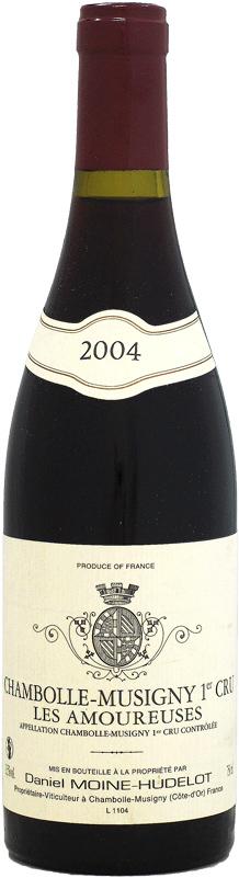 ダニエル・モワンヌ・ユドロ シャンボール・ミュジニー 1er レ・ザムルーズ [2004]750ml