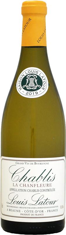 最新2019年ヴィンテージが入荷 ルイ ラトゥール シャブリ ラ 白ワイン 750ml シャンフルール 海外輸入 実物 2019