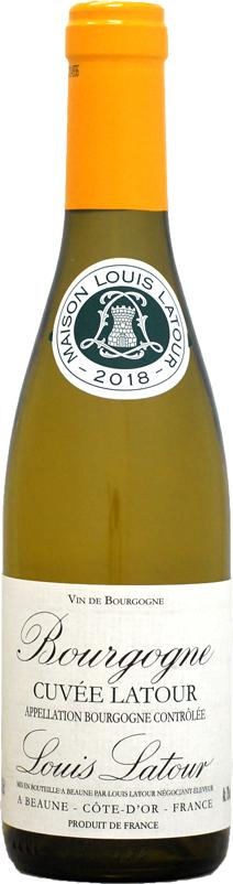 ファクトリーアウトレット ハーフ瓶 ルイ ラトゥール ブルゴーニュ キュヴェ ブラン 白ワイン 営業 2018 375ml