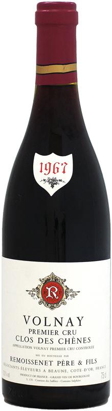 ルモワスネ ヴォルネイ 1er クロ・デ・シェーヌ [1967]750ml