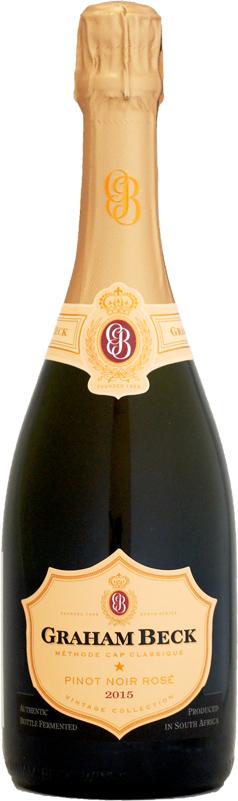 グラハム ベック オープニング 大放出セール ファクトリーアウトレット ブリュット ロゼ スパークリングワイン 750ml 2015 ミレジム