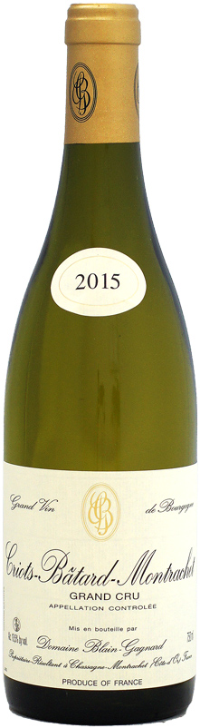 ドメーヌ・ブラン・ガニャール クリオ・バタール・モンラッシェ [2015]750ml (白ワイン)