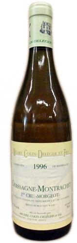 ミシェル・コラン・ドレジェ シャサーニュ・モンラッシェ 1er レ・モルジョ [1996]750ml (白ワイン)