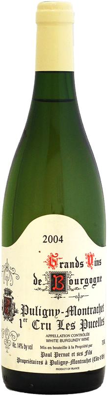 ドメーヌ・ポール・ペルノ ピュリニ・モンラッシェ 1er レ・ピュセル [2004]750ml