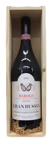 【マグナム瓶】バローロ・リゼルヴァ ・グランブッシア アルド・コンテルノ [2005]1500ml