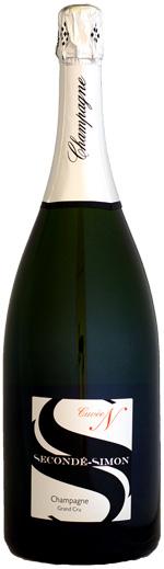 【マグナム瓶】スゴンデ・シモン ブリュット グラン・クリュ キュヴェN (エヌ) 1500ml