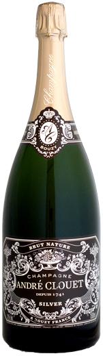 【マグナム瓶】 アンドレ・クルエ シルバー・ブリュット・ナチュールNV 1500ml