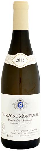ブードリオット [2013]750ml シャサーニュ・モンラッシェ ドメーヌ・ラモネ (白ワイン) 1er