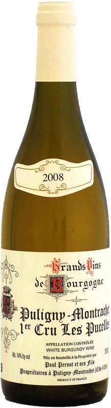 ドメーヌ・ポール・ペルノ ピュリニー・モンラッシェ 1er レ・ピュセル [2008]750ml