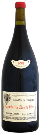 【マグナム瓶】 ドミニク・ローラン シャンベルタン・クロ・ド・ベーズ [2003]1500ml