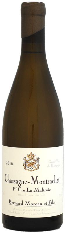 ドメーヌ・ベルナール・モロー シャサーニュ・モンラッシェ 1er ラ・マルトロワ [2015]750ml (白ワイン)
