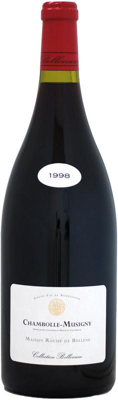 【マグナム瓶】ロッシュ・ド・ベレーヌ シャンボール・ミュジニー VV [1998]1500ml (コレクション・ベレナム)