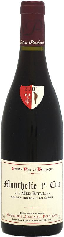 [2001] モンテリー・ドゥエレ・ポルシュレ モンテリー プルミエ・クリュ ルージュ ル・メ・バタイユ 750ml
