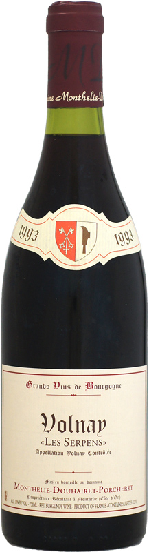 [1993] モンテリー・ドゥエレ・ポルシュレ ヴォルネイ 750ml