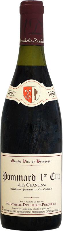 [1992] モンテリー・ドゥエレ・ポルシュレ ポマール 1er レ・シャンラン 750ml