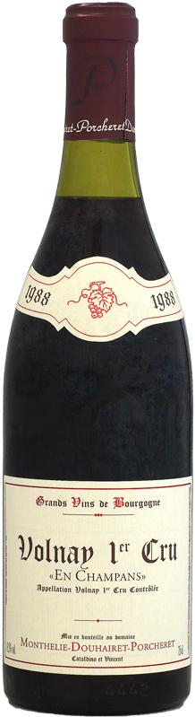[1988] モンテリー・ドゥエレ・ポルシュレ ヴォルネイ 1er アン・シャンパン 750ml