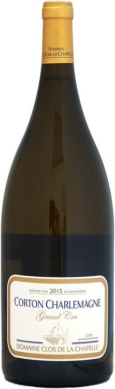 【マグナム瓶】ドメーヌ・クロ・ド・ラ・シャペル コルトン・シャルルマーニュ [2015]1500ml