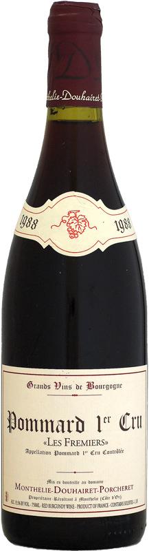 [1988] モンテリー・ドゥエレ・ポルシュレ ポマール 1er レ・フルミエ 750ml
