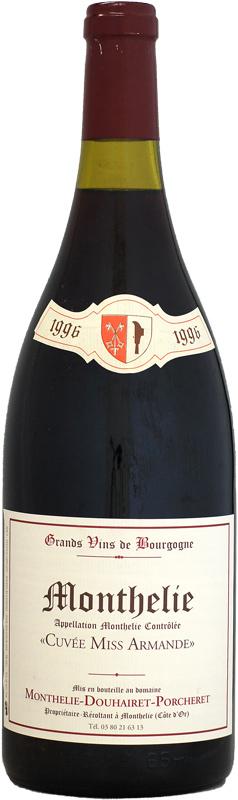 【マグナム瓶】[1996] モンテリー・ドゥエレ・ポルシュレ モンテリー・ルージュ キュヴェ・ミス・アルマンド 1500ml