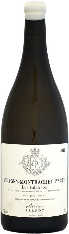 【マグナム瓶】アルヴィナ・ペルノ ピュリニー・モンラッシェ 1er レ・フォラティエール [2018]1500ml