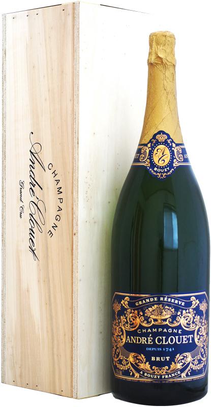 【ジェロボアム瓶】アンドレ・クルエ グラン・レゼルヴ ブリュット NV 3000ml 木箱入り