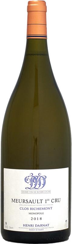 【マグナム瓶】アンリ・ダルナ ムルソー 1er クロ・リシュモン モノポール [2018]1500ml