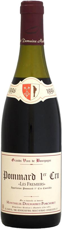 [1996] モンテリー・ドゥエレ・ポルシュレ ポマール 1er レ・フルミエ 750ml