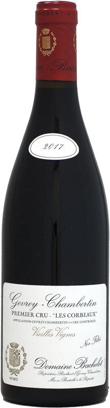 ドメーヌ・バシュレ ジュヴレ・シャンベルタン 1er レ・コルボー VV [2017]750ml