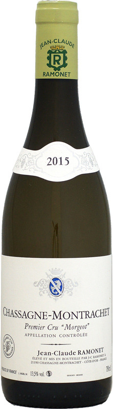 ドメーヌ・ラモネ シャサーニュ・モンラッシェ 1er モルジョ [2015]750ml (白ワイン)