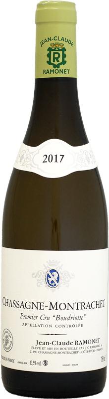 ドメーヌ・ラモネ シャサーニュ・モンラッシェ 1er ブードリオット [2017]750ml (白ワイン)
