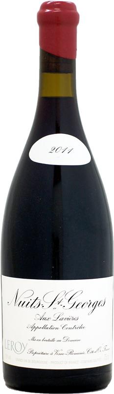 新着セール ドメーヌ ルロワ ニュイ サン ジョルジュ 正規品 ラヴィエール 750ml 人気海外一番 2011 オー