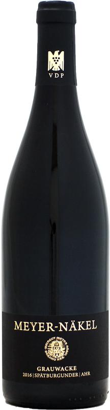 マイヤー ネーケル レビューを書けば送料当店負担 グラウヴァッケ シュペートブルグンダー 2016 開店祝い 750ml 赤ワイン