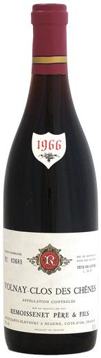 ルモワスネ ヴォルネイ 1er クロ・デ・シェーヌ [1966]720ml