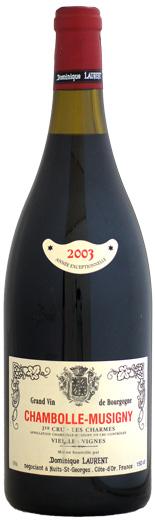 【マグナム瓶】 ドミニク・ローラン シャンボール・ミュジニー 1er レ・シャルム [2003]1500ml