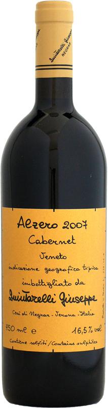 ジュゼッペ クインタレッリ アルゼロ・カベルネ [2007]750ml