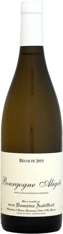 オーディフレッド ブルゴーニュ アリゴテ ヴィエイユ ヴィーニュ 実物 2019 白ワイン 750ml 業界No.1