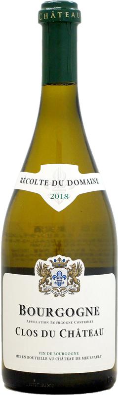 シャトー ド ムルソー ブルゴーニュ ブラン 白ワイン 店内限界値引き中 セルフラッピング無料 クロ 750ml 格安激安 デュ 2018