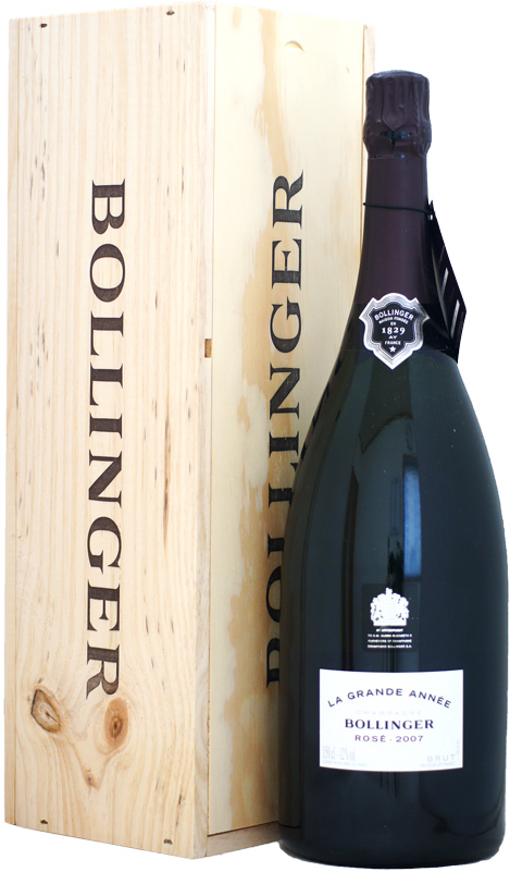【マグナム瓶】ボランジェ ラ・グラン・ダネ ロゼ [2007]1500ml 木箱入り