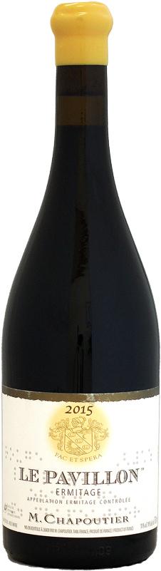 シャプティエ エルミタージュ・ルージュ ル・パヴィヨン [2015]750ml (赤ワイン)